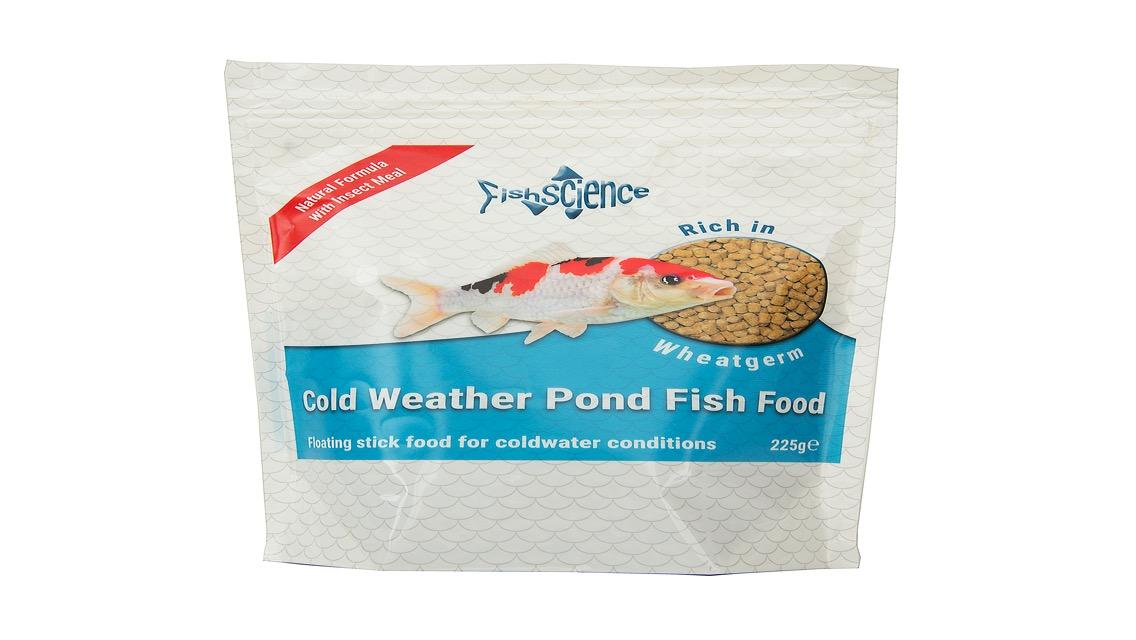 Cold weather pond clearly aquatics aquarium equipment for Koi pond temperature