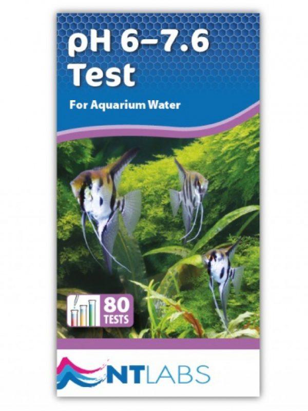 Aquarium Narrow pH 6-7.6 - 80 tests