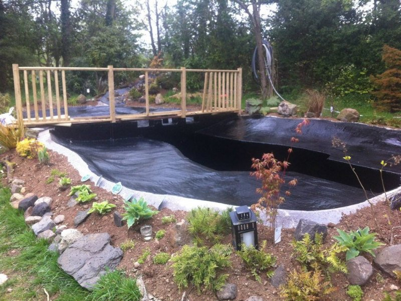 Pond installation & Pond builds Ireland - Clearly Aquatics
